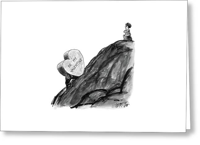 New Yorker February 16th, 1987 Greeting Card by Warren Miller