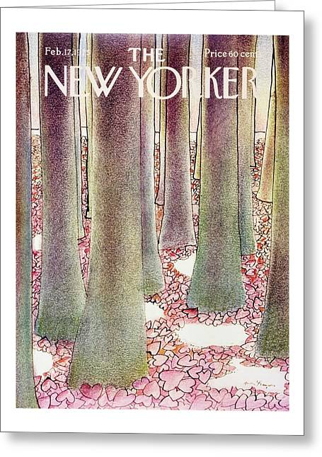New Yorker February 17th 1975 Greeting Card