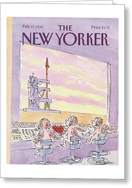 New Yorker February 17th, 1992 Greeting Card