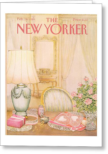 New Yorker February 18th, 1985 Greeting Card