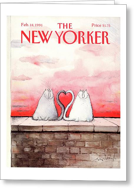 New Yorker February 18th, 1991 Greeting Card