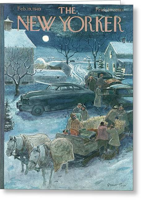 New Yorker February 19th, 1949 Greeting Card