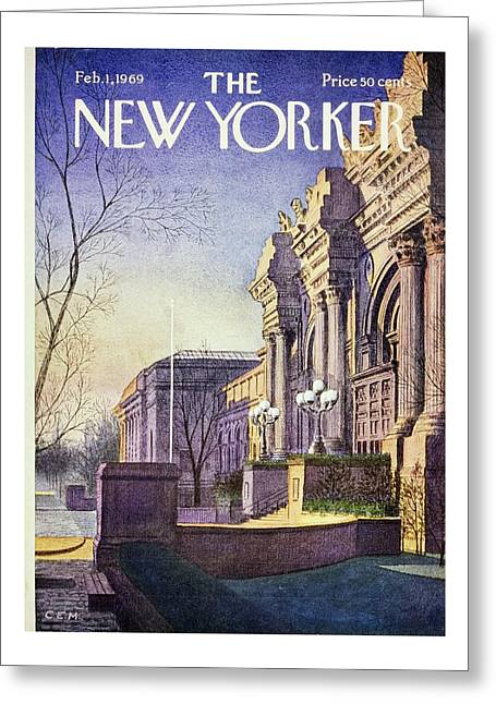 New Yorker February 1st 1969 Greeting Card