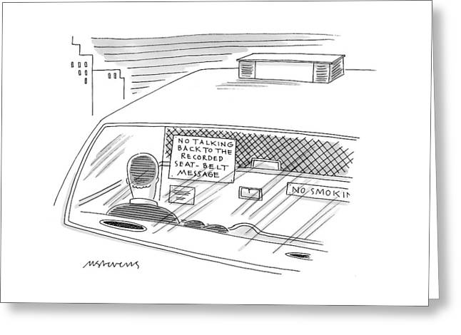 New Yorker February 1st, 1999 Greeting Card