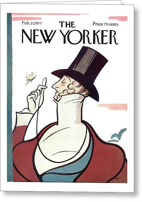 New Yorker February 21st, 1977 Greeting Card