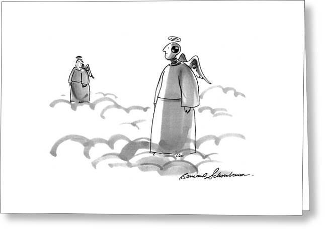 New Yorker February 21st, 1994 Greeting Card by Bernard Schoenbaum