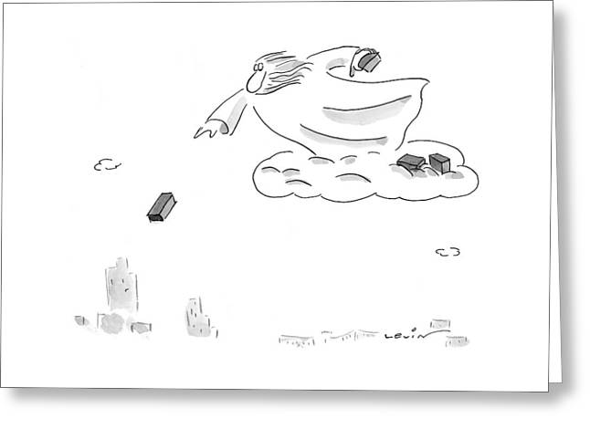 New Yorker February 22nd, 1999 Greeting Card