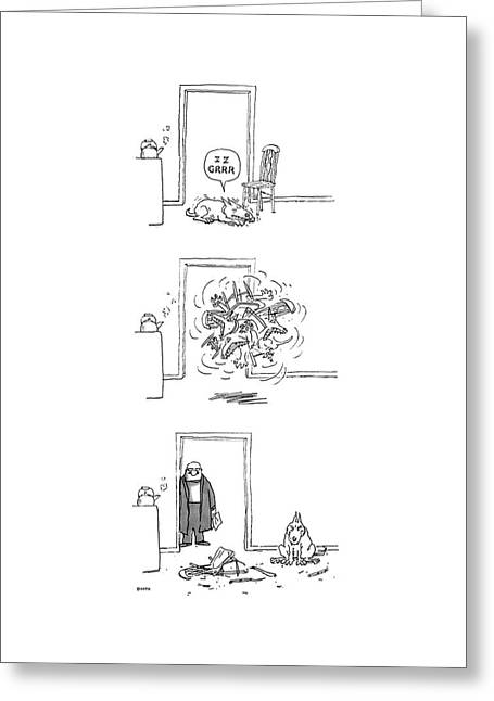New Yorker February 23rd, 1987 Greeting Card