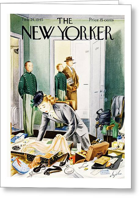 New Yorker February 24th, 1945 Greeting Card