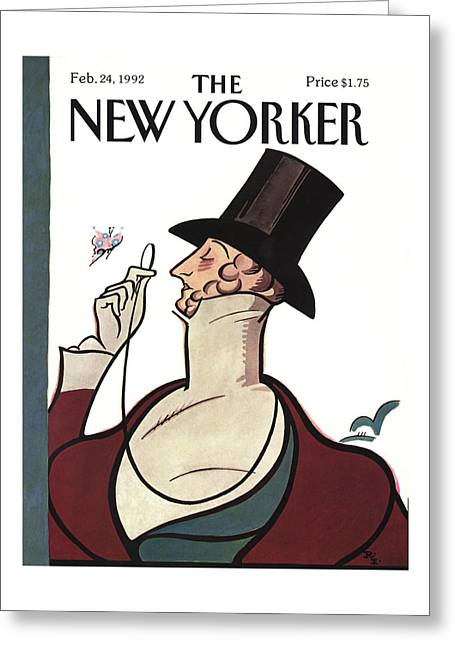 New Yorker February 24th, 1992 Greeting Card