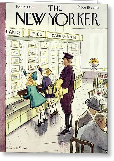 New Yorker February 26 1938 Greeting Card