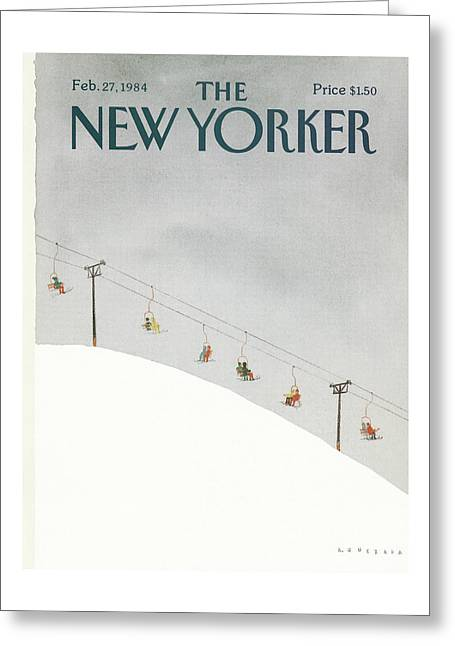 New Yorker February 27th, 1984 Greeting Card