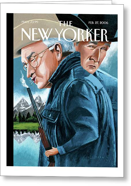 New Yorker February 27th, 2006 Greeting Card