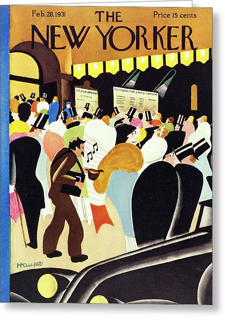 New Yorker February 28 1931 Greeting Card