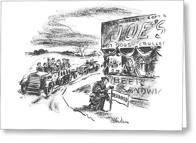 New Yorker February 28th, 1942 Greeting Card