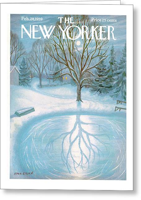 New Yorker February 28th, 1959 Greeting Card