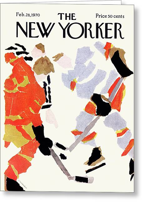 New Yorker February 28th, 1970 Greeting Card