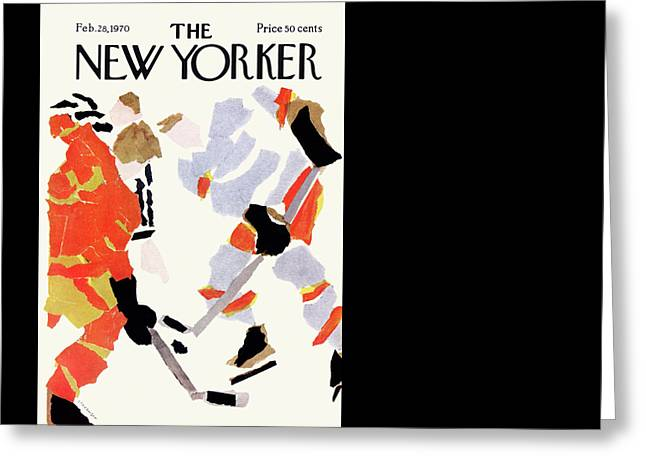 New Yorker February 28th, 1970 Greeting Card by James Stevenson