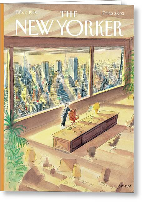 New Yorker February 2nd, 1998 Greeting Card
