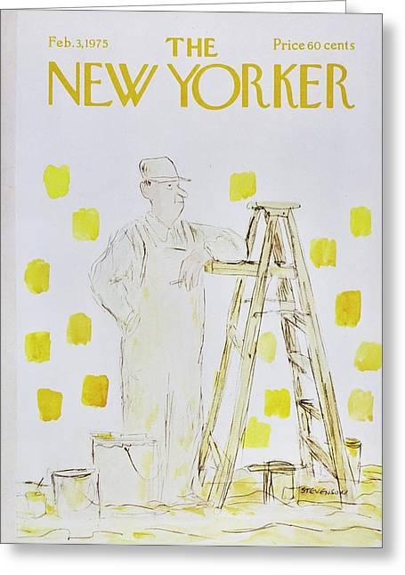 New Yorker February 3rd 1975 Greeting Card