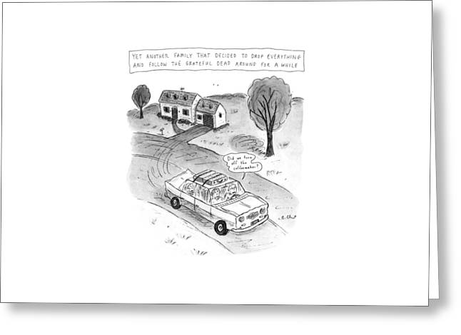 New Yorker February 3rd, 1992 Greeting Card by Roz Chast