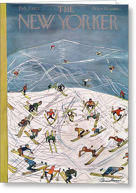 New Yorker February 5th, 1955 Greeting Card