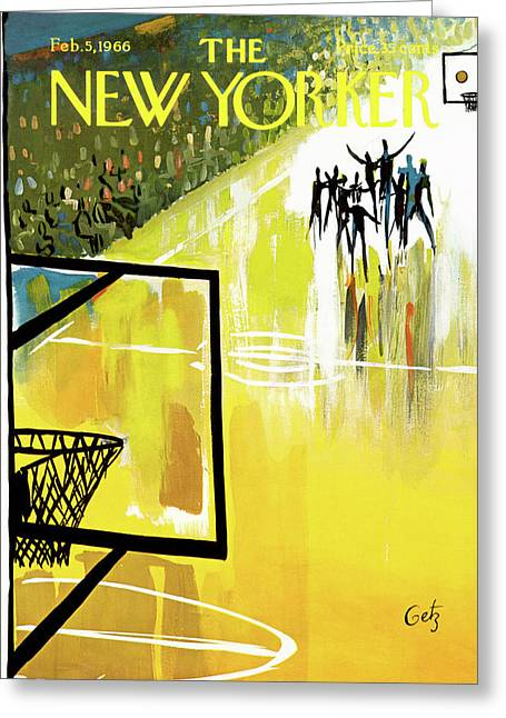 New Yorker February 5th, 1966 Greeting Card by Arthur Getz