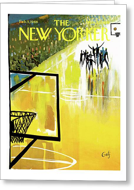 New Yorker February 5th, 1966 Greeting Card