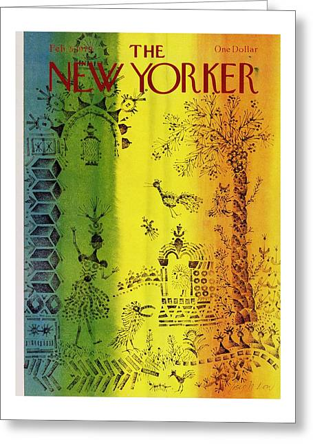 New Yorker February 5th 1979 Greeting Card by Joseph Low