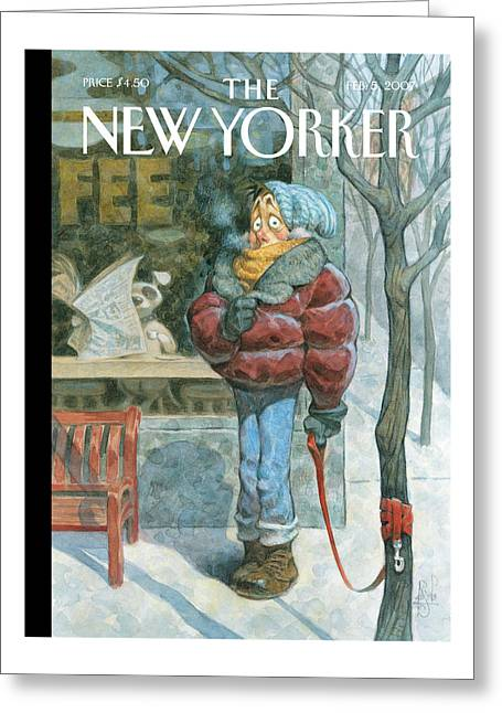 New Yorker February 5th, 2007 Greeting Card