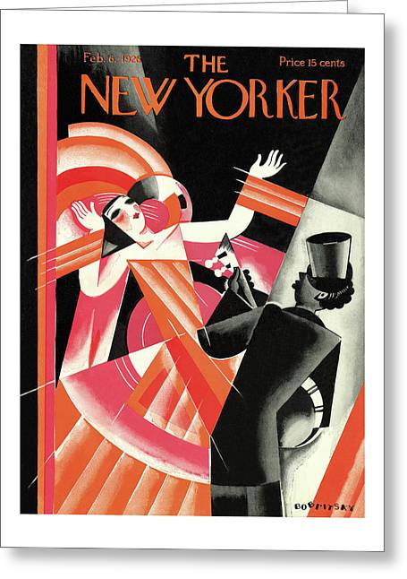 New Yorker February 6th, 1926 Greeting Card