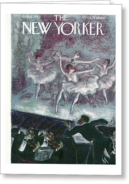 New Yorker February 6, 1943 Greeting Card