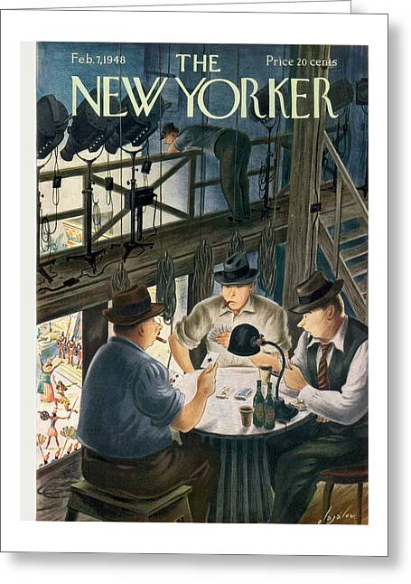 New Yorker February 7th, 1948 Greeting Card