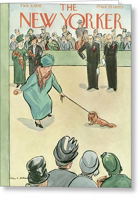 New Yorker February 8th, 1936 Greeting Card