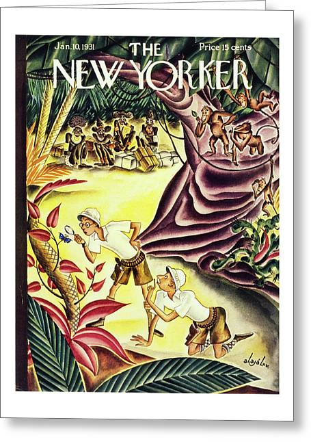 New Yorker January 10 1931 Greeting Card