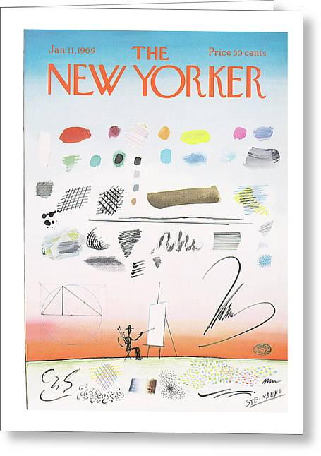 New Yorker January 11th, 1969 Greeting Card