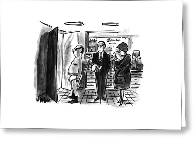 New Yorker January 11th, 1993 Greeting Card by Warren Miller