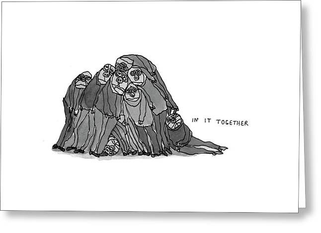 New Yorker January 11th, 1993 Greeting Card by William Steig