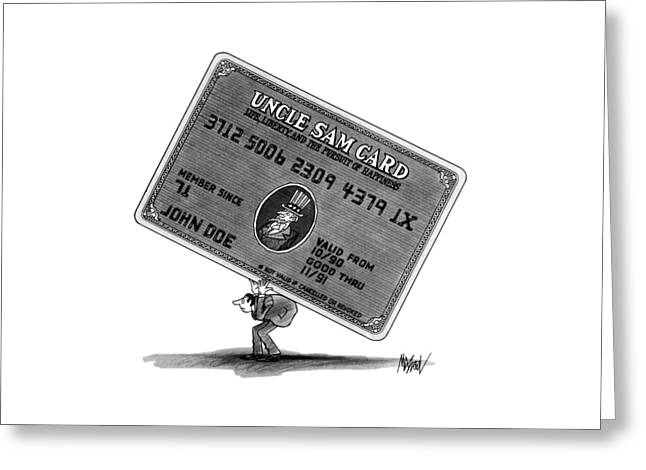 New Yorker January 14th, 1991 Greeting Card
