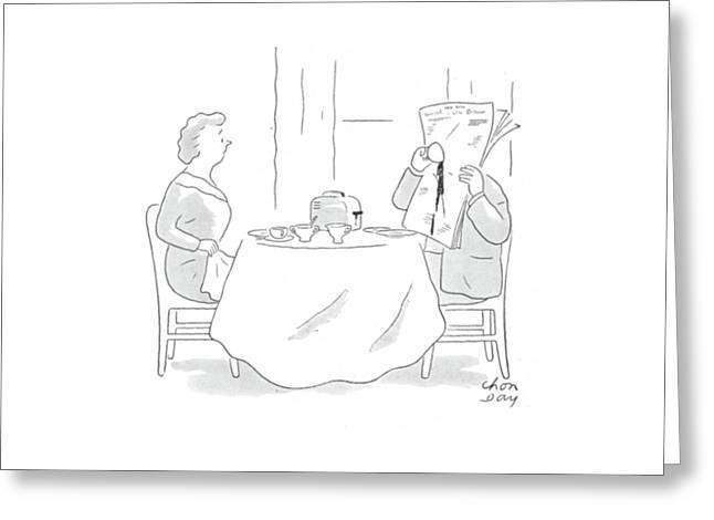 New Yorker January 15th, 1944 Greeting Card