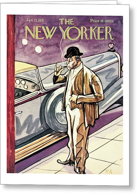 New Yorker January 17th, 1931 Greeting Card