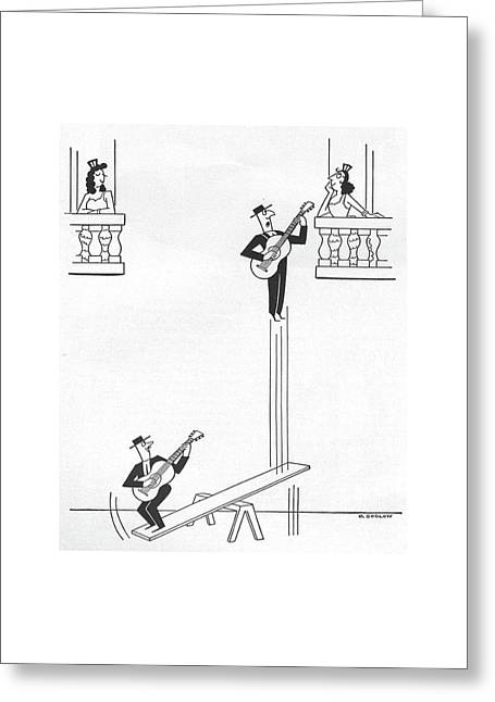 New Yorker January 17th, 1959 Greeting Card