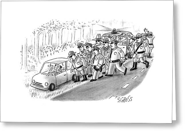New Yorker January 18th, 1993 Greeting Card