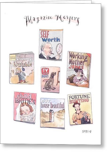 New Yorker January 18th, 1999 Greeting Card by Barry Blitt