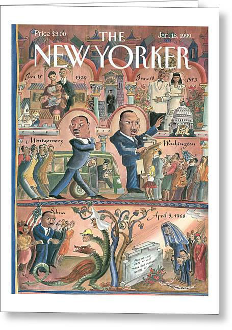 New Yorker January 18th, 1999 Greeting Card