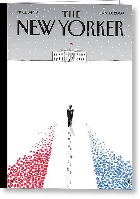 New Yorker January 19th, 2009 Greeting Card