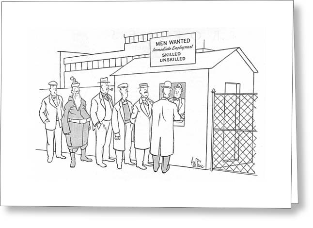 New Yorker January 1st, 1944 Greeting Card