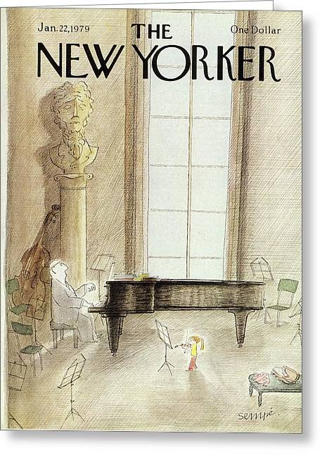 New Yorker January 22nd, 1979 Greeting Card