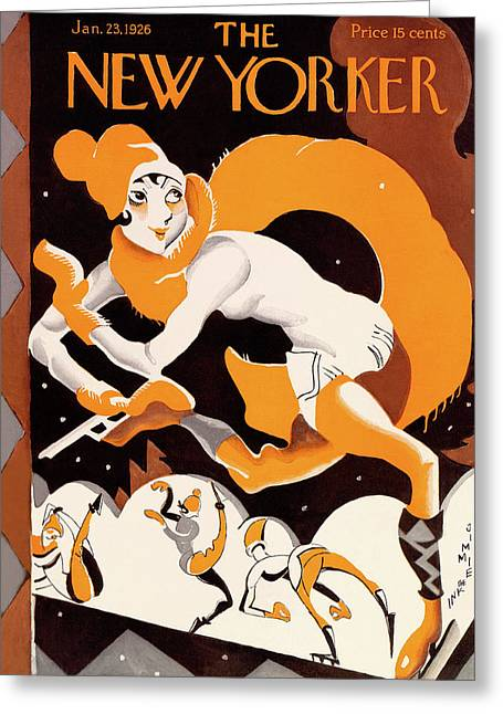 New Yorker January 23rd, 1926 Greeting Card