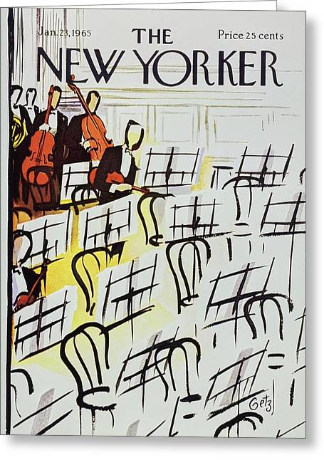 New Yorker January 23rd 1965 Greeting Card